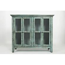 Rustic Shores 4 Door High Cabinet