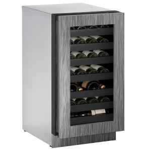 "U-LINE3018wc 18"" Wine Refrigerator With Integrated Frame Finish and Field Reversible Door Swing (115 V/60 Hz Volts /60 Hz Hz)"