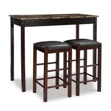 See Details - Tavern Set Esp With Faux Marble Top