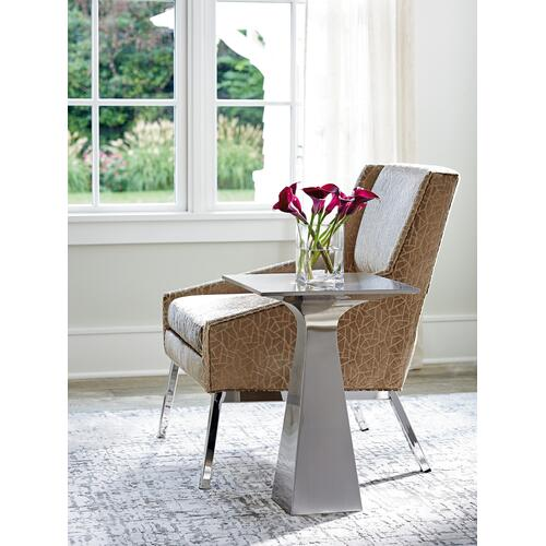 Amani Chair With Polished Chrome Base