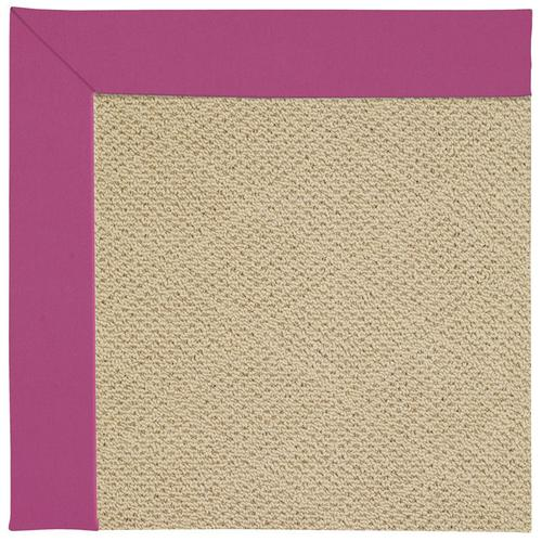 Creative Concepts-Cane Wicker Canvas Hot Pink Machine Tufted Rugs