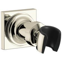 See Details - Polished Nickel Adjustable Wall Mount for Hand Shower