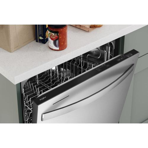 Whirlpool - Large Capacity Dishwasher with Tall Top Rack