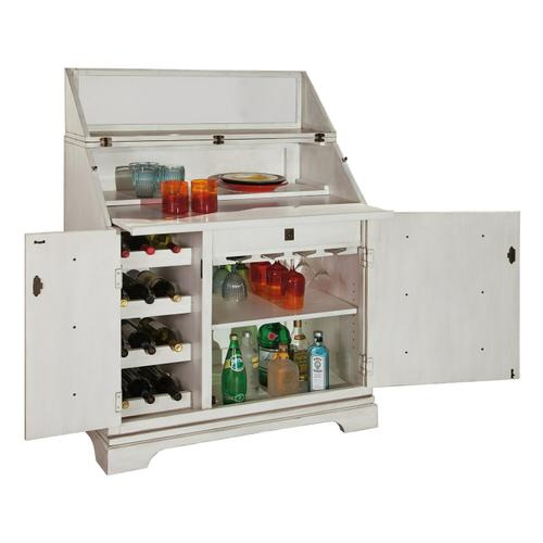 695-180 Bottoms Up Wine & Bar Console