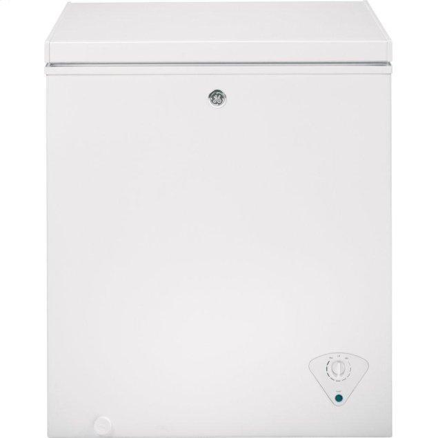 GE 5.0 Cu. Ft. Manual Defrost Chest Freezer