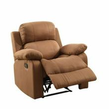 ACME Parklon Recliner - 59478 - Chocolate Microfiber