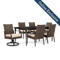 Addyson 7pc Cushioned Dining Set Product Image