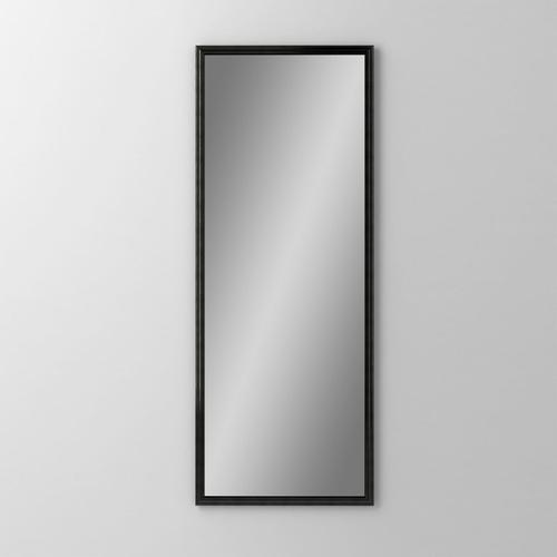"Main Line 15-1/8"" X 39-7/8"" X 1-5/8"" Rosemont Framed Mirror In Brushed Black"