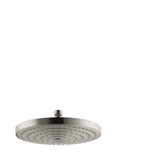 Brushed Nickel Showerhead 240 2-Jet, 2.5 GPM