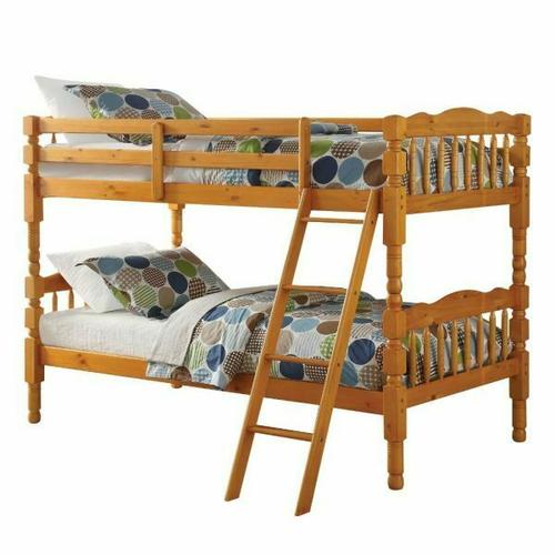 ACME Homestead T/T Bunk Bed - HB/FB - 02301 - Honey Oak