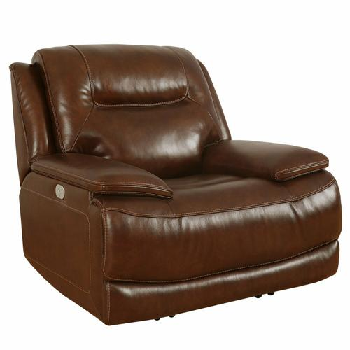 Parker House - COLOSSUS - NAPOLI BROWN Power Recliner
