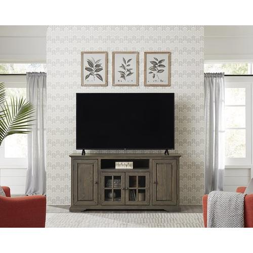 64 Inch Console - Storm Finish