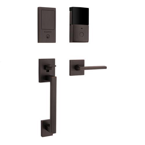 Venetian Bronze Minneapolis Touchscreen Dummy Handleset