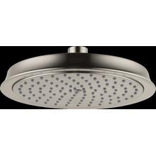 Brushed Nickel Showerhead 180 1-Jet, 2.0 GPM