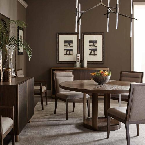 Bernhardt - Profile Side Chair in Warm Taupe (378)