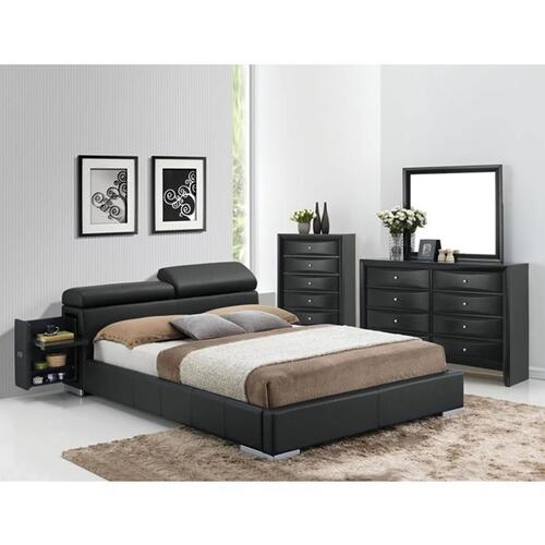 MANJOT QUEEN BED