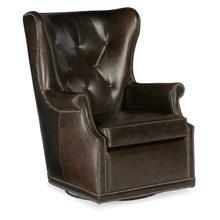 Living Room Maya Wing Swivel Club Chair