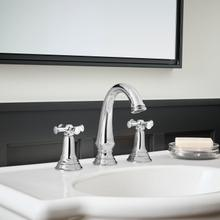 See Details - Delancey Widespread Faucet - Cross Handles  American Standard - Polished Chrome