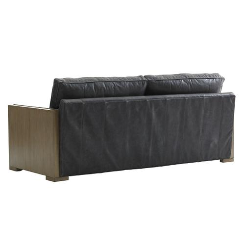 Delshire Leather Sofa