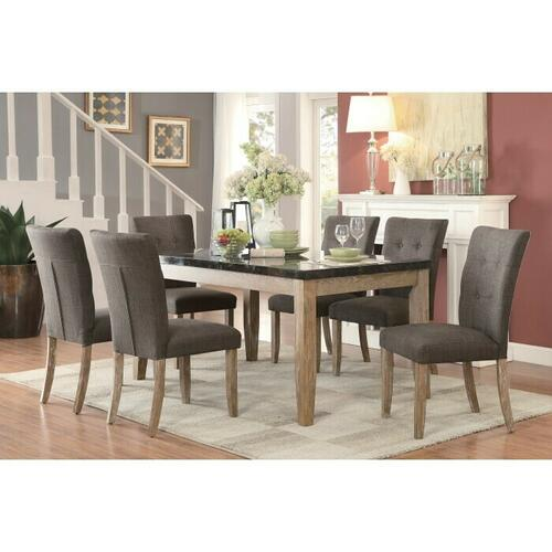 Gallery - Dining Table, Faux Marble Top
