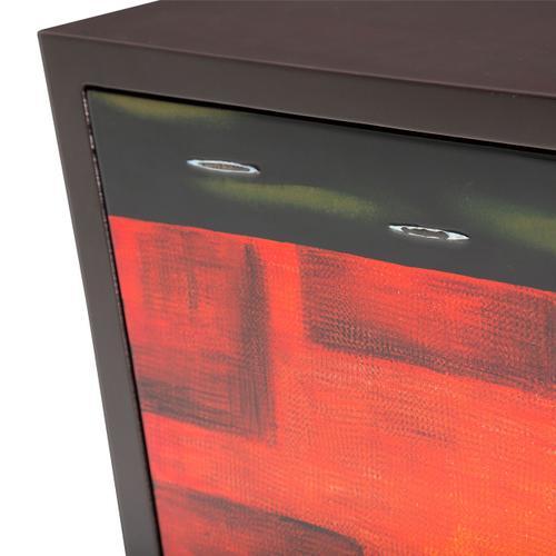 Amini - V Shape Storage Chest 3 Drawers