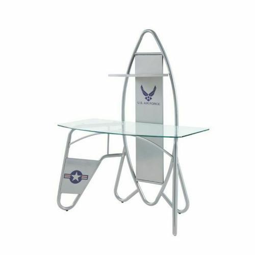 ACME Aeronautic Desk - 92015 - Silver
