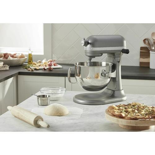 KitchenAid Canada - Professional 600 Series 6 Quart Bowl-Lift Stand Mixer - Silver