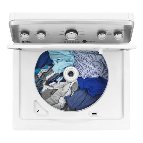 Product Image - Top Load Washer with the Deep Water Wash Option and PowerWash® Cycle - 4.9 cu. ft. I.E.C.