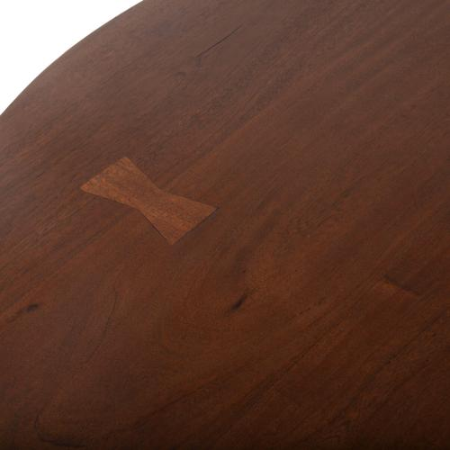 """Mozambique 48"""" Round Dining Table Walnut"""