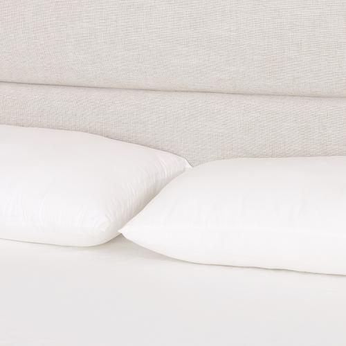 Four Hands - King Size Cambric Ivory Cover Daphne Bed