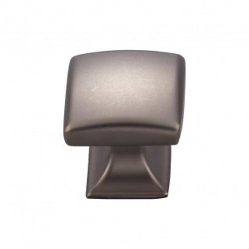 Contour Knob 1 1/8 Inch - Ash Gray