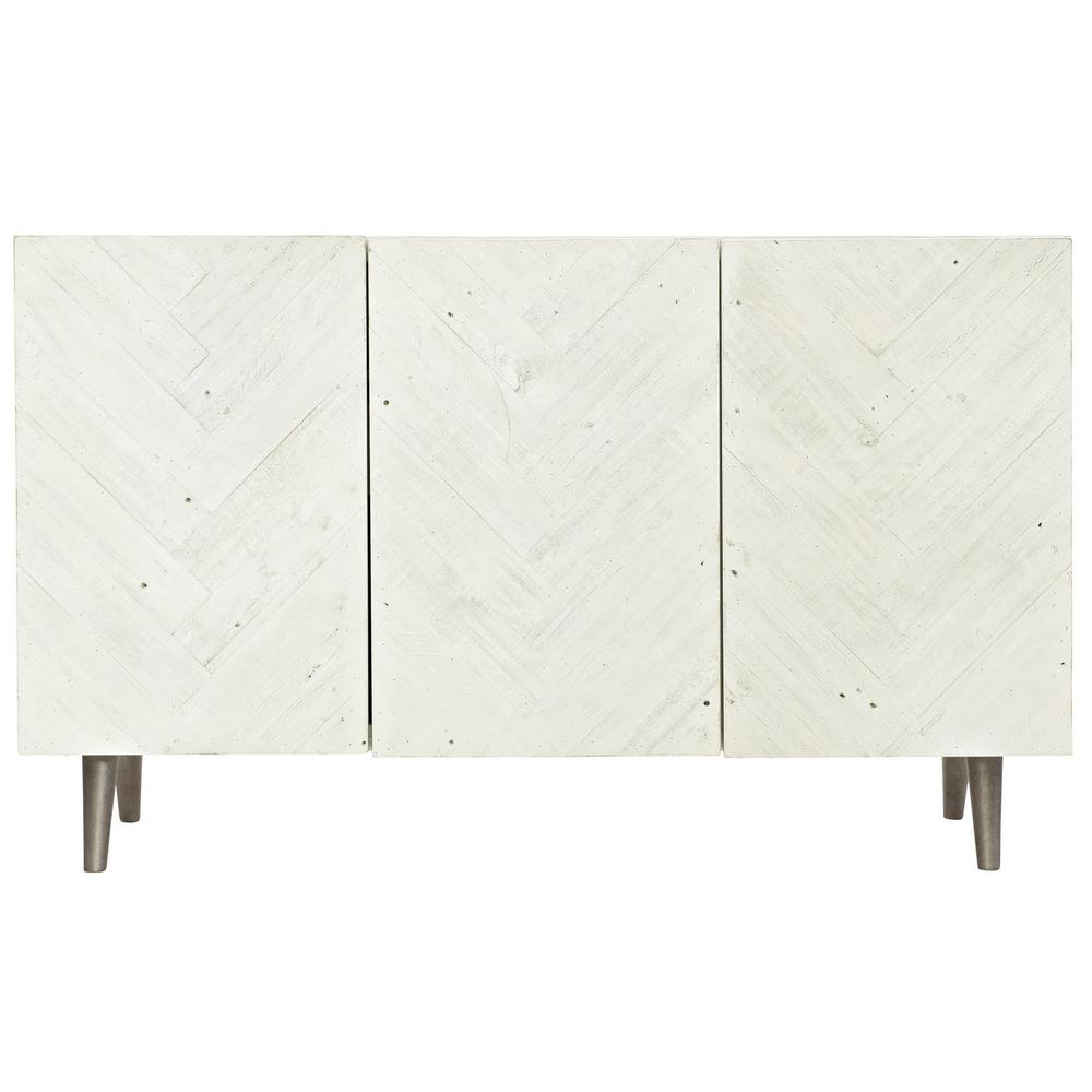 Macauley Sideboard in Brushed White