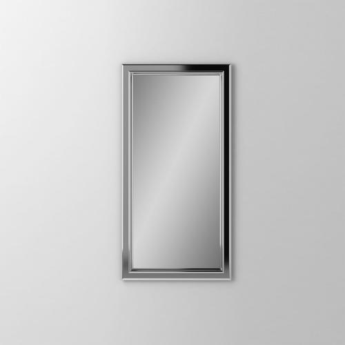 """Main Line 23-1/8"""" X 39-7/8"""" X 1-5/8"""" Bryn Mawr Framed Mirror In Chrome"""