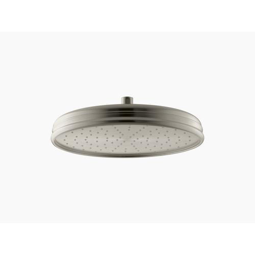 """Vibrant Brushed Nickel 12"""" Rainhead With Katalyst Air-induction Technology, 2.5 Gpm"""
