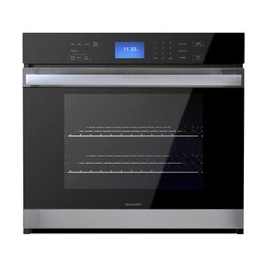 Stainless Steel European Convection Built-In Single Wall Oven Product Image