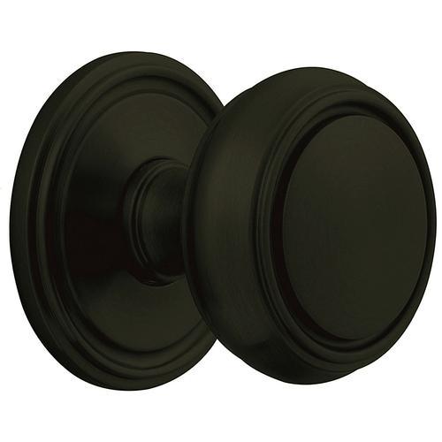 Baldwin - Satin Black 5068 Estate Knob