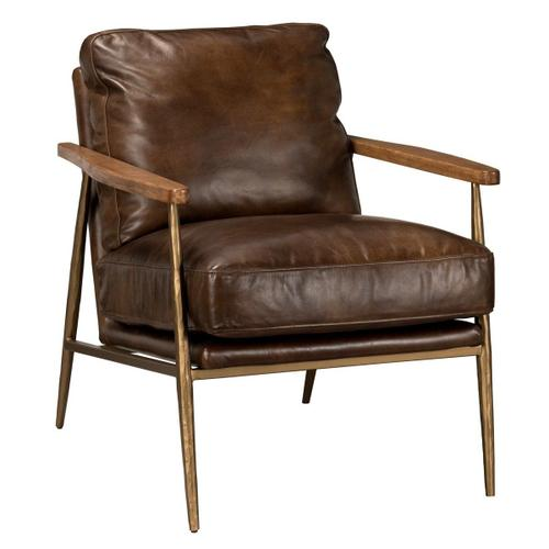 Classic Home - Christopher Club Chair Antique Brown
