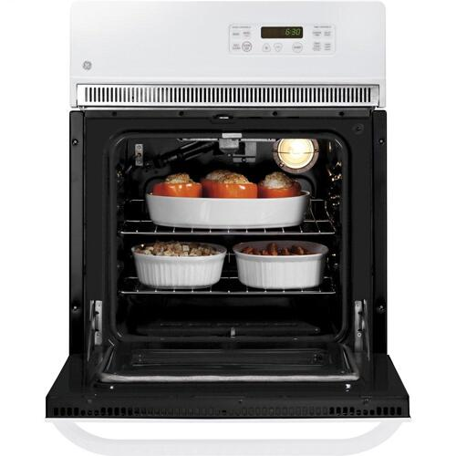 """GE Appliances - GE® 24"""" Electric Single Self-Cleaning Wall Oven"""