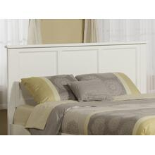Madison Headboard King White