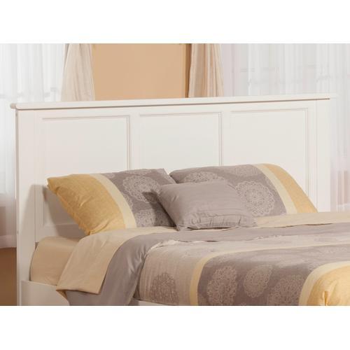 Atlantic Furniture - Madison Headboard King White
