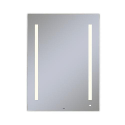 """Aio 29-1/8"""" X 39-1/4"""" X 1-1/2"""" Lighted Mirror With Lum Lighting At 2700 Kelvin Temperature (warm Light), Dimmable, Usb Charging Ports and Om Audio"""