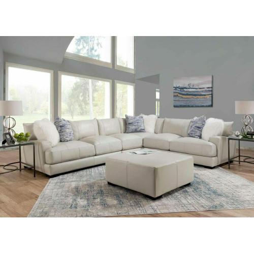 909 Luca Leather Sectional