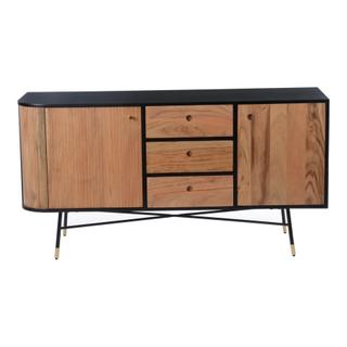Black And Tan Sideboard