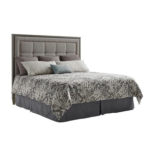 St. Tropez Upholstered Panel Headboard King Headboard