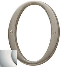 View Product - Polished Nickel with Lifetime Finish House Number - 0