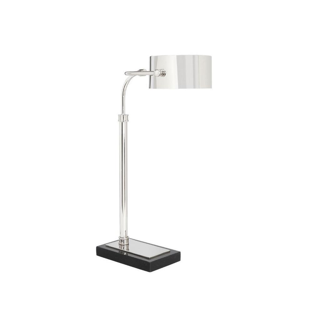 Enzo Table Lamp, Nickel