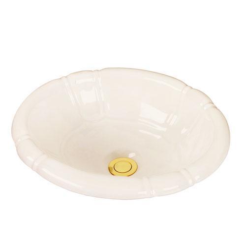 Sienna Drop In Bowl - Bisque