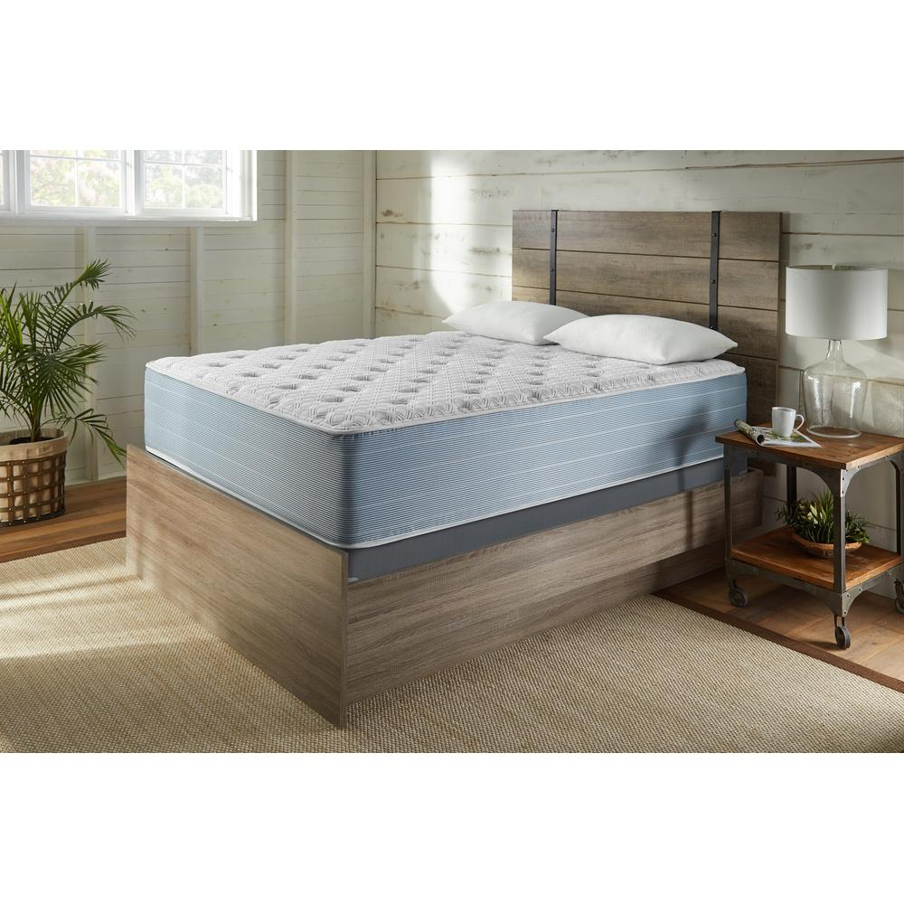 """See Details - American Bedding 15"""" Plush Tight Top Mattress, Queen"""