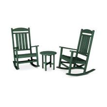 View Product - Presidential 3-Piece Rocking Chair Set in Green