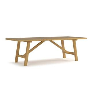 Martin Teak Tables Rectangular Dining Table